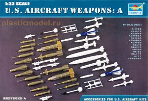 Trumpeter 03302, 1:32, U.S. Aircraft weapons A