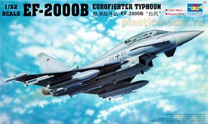 Trumpeter 02279 1:32, EF-2000B Eurofighter Typhoon  (EF-2000В Еврофайтер «Тайфун»)