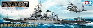 "78017, 1:350, U.S. Battleship BB-62 ""New Jersey"" (Американский линкор ББ-62 «Нью-Джерси»)"