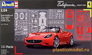 Revell 07276, 1:24, Ferrari California open top (Феррари «Калифорния» с открытым верхом)