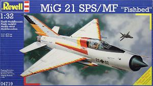 "Revell 04719, 1:32, MiG 21 SPS/MF ""Fishbed"""