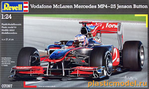 07097, 1:24, Vodafone McLaren Mercedes MP4-25 Jenson Button (Водафон Макларен Мерседес  Дженсон Баттон)