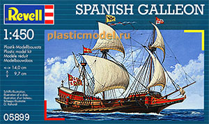 Revell 05899, 1:450, Spanish Galleon (Испанский Галеон)