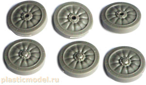 MasterClub MC235007 1:35, MT-LB/2S1 `Gvozdika` road wheels (Набор опорных катков для MT-ЛБ / 2С1 «Гвоздика»)