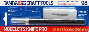Tamiya 74098, Modeler`s knife Pro (Профессиональный модельный нож) .