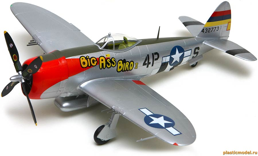 Easy Model 39306 Republic P-47D Thunderbolt, 531FS 406FG (Рипаблик P-47D «Тандерболт», 531-я эскадрилья, 406-й группы истребителей)
