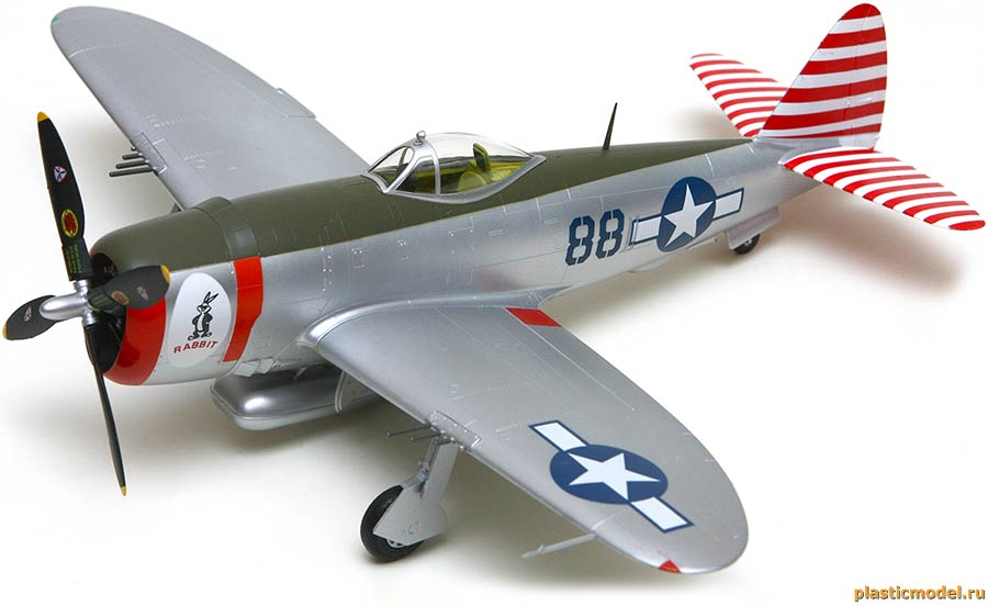 Easy Model 39310 Republic P-47D Thunderbolt, 527FS, 86FG (Рипаблик P-47D «Тандерболт», 527-я эскадрилья, 86-й группы истребителей)