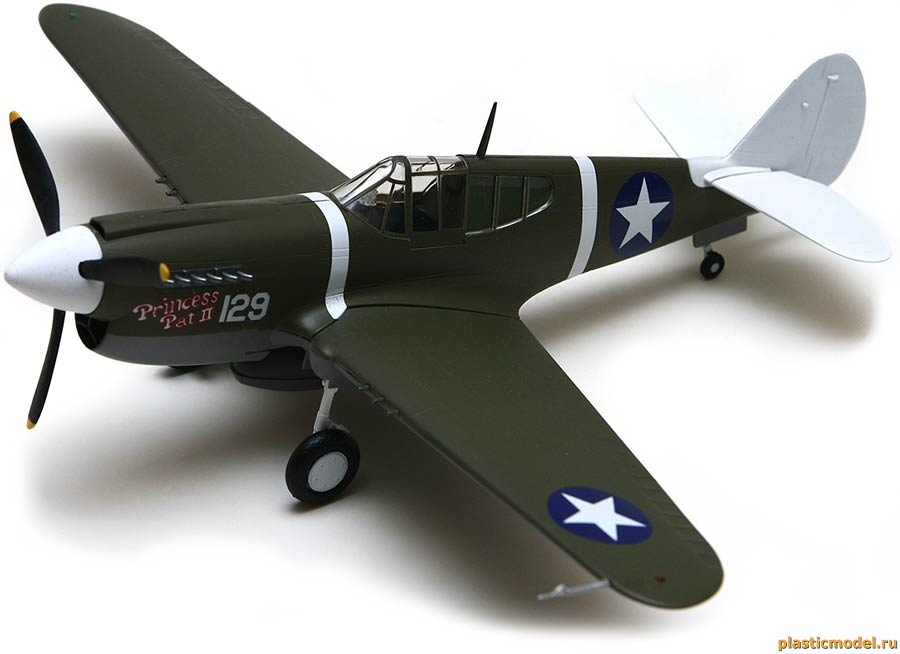 Easy Model 39311 Curtiss P-40M Kittyhawk, 44FS 18FG (P-40M «Киттихаук», 44-я эскадрилья, 18-й группы истребителей)