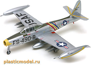 Easy Model 37105 1:72, Republic F-84E Thunderjet (Рипаблик F-84E «Тандерджет»)