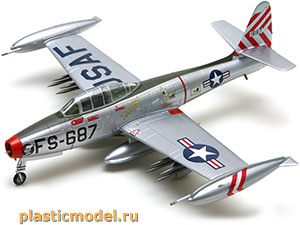Easy Model 37108 1:72, Republic F-84 Thunderjet (Рипаблик F-84E «Тандерджет»)
