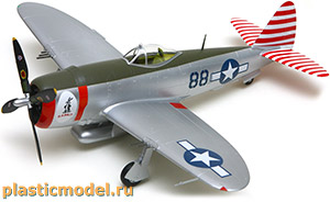 Easy Model 39310 1:48, Republic P-47D Thunderbolt, 527FS, 86FG (Рипаблик P-47D «Тандерболт», 527-я эскадрилья, 86-й группы истребителей)