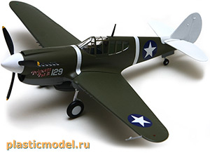 Easy Model 39311 1:48, Curtiss P-40M Kittyhawk, 44FS 18FG (P-40M «Киттихаук», 44-я эскадрилья, 18-й группы истребителей)