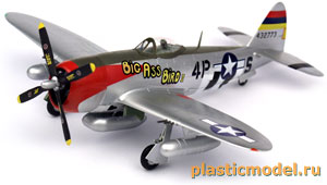 Easy Model 37286 1:72, Republic P-47D Thunderbolt (Рипаблик P-47D «Тандерболт»)