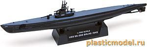 "Easy Model 37310 1:700, USS SS-285 ""Balao"" (SS-285 «Балао» Американская подводная лодка, 1943г.)"