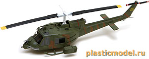 "Easy Model 36906 1:72, UH-1B ""Huey"" (Американский многоцелевой вертолёт Белл UH-1B «Хьюи»)"