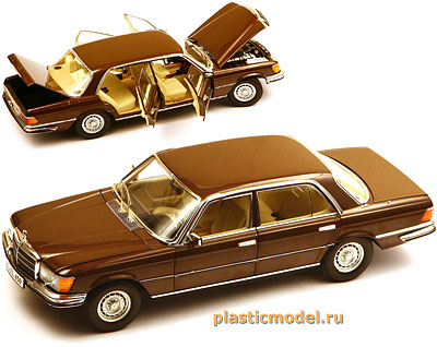 Revell 08406 1:18, Mercedes-Benz 450 SEL W116 (Мерседес-Бенц 450 SEL)