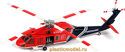 "Easy Model 37019 1:72, American UH-60A ""Black hawk"" (Сикорский UH-60A «Блэк хоук»)"
