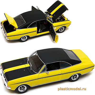 Revell 08493 1:18, Opel Commodore GS/E (Опель «Коммодор» GS/E)