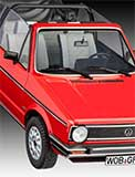thumbnail for Revell 07071 VW Golf 1 Cabriolet (Фольксваген Гольф 1 кабриолет)
