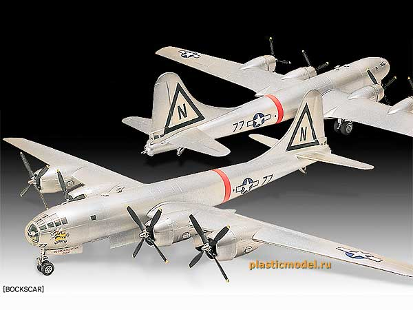 "Boeing B-29A Superfortress ""Enola Gay & Bockscar"" (Американский бомбардировщик Боинг B-29A «Суперфортресс» / «Суперкрепость» в вариантах «Энола Гэй» или «Бокскар»)"