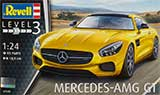 thumbnail for Revell 07028 Mercedes-AMG GT (Спорткар Мерседес GT в тюнинге AMG)