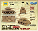thumbnail for Звезда 6263 M4A2 US medium tank (M4A2 «Шерман» Американский средний танк)