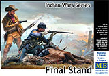 thumbnail for Master Box 35191 The Final Stand. Indian Wars Series (Последний рубеж. Серия Индейские войны)