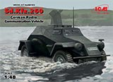 thumbnail for ICM 48193 Sd.Kfz.260 German Radio Communication Vehicle (Sd.Kfz.260 Германский бронеавтомобиль радиосвязи 2МВ)