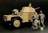 thumbnail for ICM 35381 Panhard 178 with French Armoured Vehicle Crew (Панар 178 с французским экипажем бронеавтомобиля)