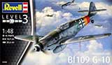 thumbnail for Revell 03958 Messerschmitt Bf109 G-10 (Мессершмитт Bf.109 G-10 Истребитель)