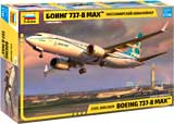 thumbnail for Звезда 7026 Boeing 737-8 MAX civil airliner (Боинг 737-8 MAX Пассажирский авиалайнер)