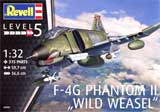 "thumbnail for Revell 04959 F-4G Phantom ""Wild Weasel"" USAF (Макдоннел-Дуглас F-4G «Фантом» «Уаилд Визел» ВВС США)"