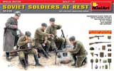 thumbnail for Miniart 35109 Soviet Soldiers At Rest, WWII (Советские солдаты на отдыхе, 2МВ)