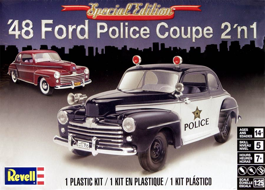 Revell 14318 '48 Ford Police Coupe 2 in 1 (Форд Купе 1948 года 2 варианта сборки)