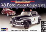 thumbnail for Revell 14318 '48 Ford Police Coupe 2 in 1 (Форд Купе 1948 года 2 варианта сборки)