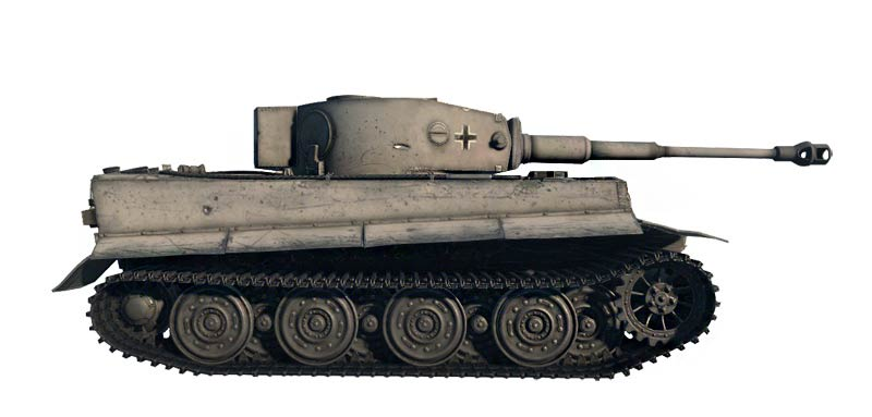 Italeri 36502 Pz.Kpfw.VI Tiger World of Tanks (Т-VI «Тигр» «Мир Танков»)