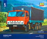 thumbnail for AVD Models 1410AVD КАМАЗ-5320 бортовой с тентом (KAMAZ-5320 canvas truck)