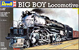 thumbnail for Revell 02165 BIG BOY locomotive (Паровоз «Биг Бой»)