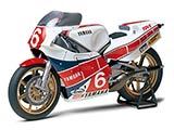 thumbnail for Tamiya 14075 Yamaha YZR500 OW70 Taira version (Ямаха YZR500 OW70, Тадахико Тайра)