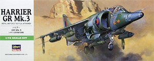 Hasegawa 00236 1:72, Harrier GR Mk.3 (Royal Air Force Tactical Attacker)
