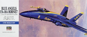 Hasegawa 00440 1:72, Blue Angels F/A-18A Hornet (U.S. NAVY Flight Demonstration Squadron)