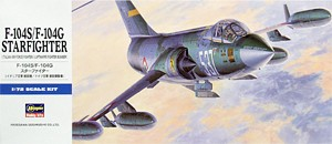 Hasegawa 00447 1:72, F-104S/F-104G Starfighter (Italian Air Force Fighter/Luftwaffe Fighter Bomber)