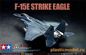 "Tamiya 60783 1:72, F-15E ""Strike Eagle"" (Макдоннелл-Дуглас F-15E «Страйк Игл»)"