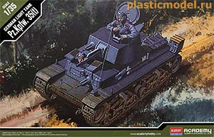 Academy 13280 1:35, Pz.Kpfw.35(t) german light tank (Pz.Kpfw.35(t) германский лёгкий танк)