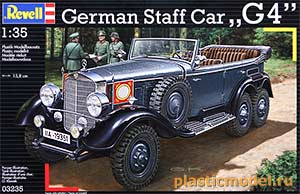 "Revell 03235 1:35, German Staff Car ""G4"" (Даймлер-Бенц G4 германский штабной автомобиль, 1939 года выпуска)"