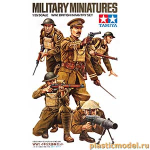 Tamiya 35339 1:35, WWI British Infantry Set (Британская пехота, 1МВ)