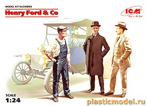 ICM 24003 1:24, Henry Ford & Co (Генри Форд и Ко)