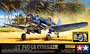 Tamiya 60325 1:32, Vought F4U-1 Corsair  (Чанс-Воут F4U-1 «Корсар»  американский палубный истребитель)
