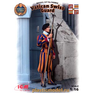 ICM 16002 1:16, Vatican Swiss Guard (Швейцарский гвардеец стражи Ватикана)