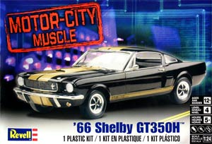 Revell 12482 1:24, 1966 Shelby Mustang GT350H (Шелби «Мустанг» GT350H 1966)